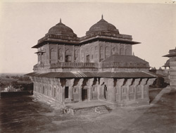 General view from the south-west of Birbal's House, Fatehpur Sikri 1003538